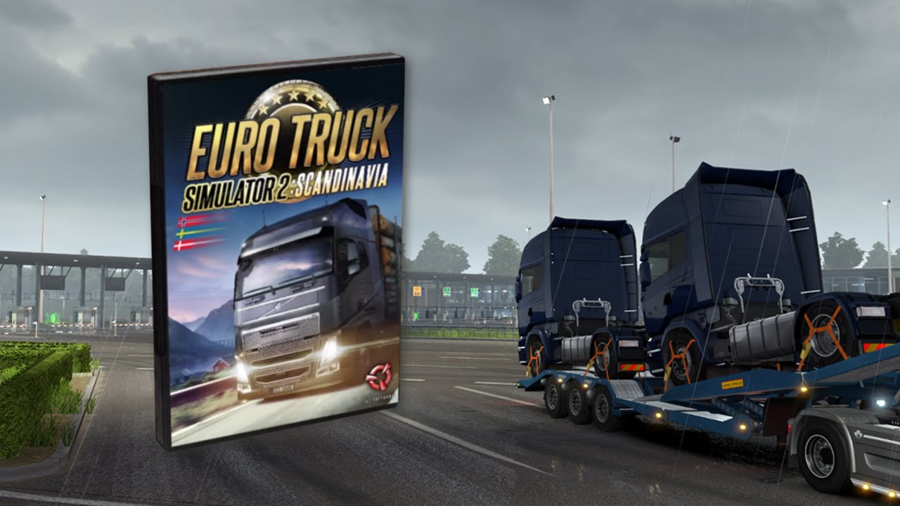euro truck simulator 2 new scania trucks delivery across. Black Bedroom Furniture Sets. Home Design Ideas