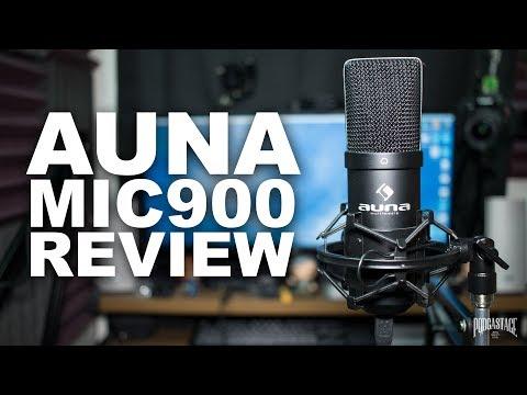 Auna MIC-900B USB Mic Review / Test