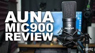 Auna MIC-900B USB Mic Review / Test