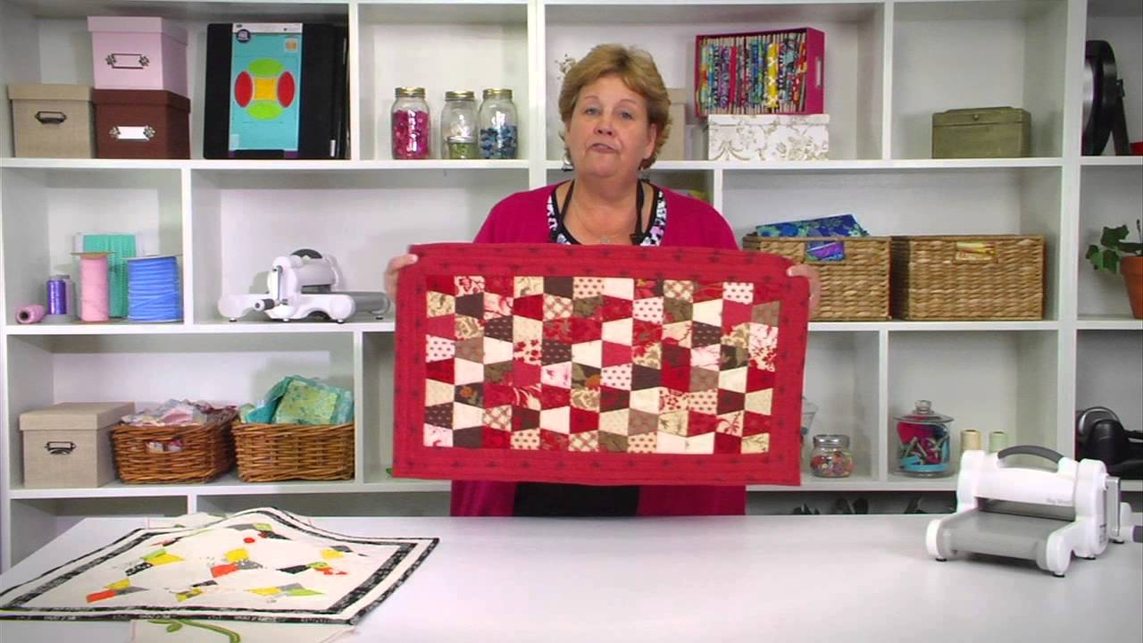 From the Sizzix Quilting Workshop: the Missouri Star Quilt ... : quilting videos site youtube - Adamdwight.com
