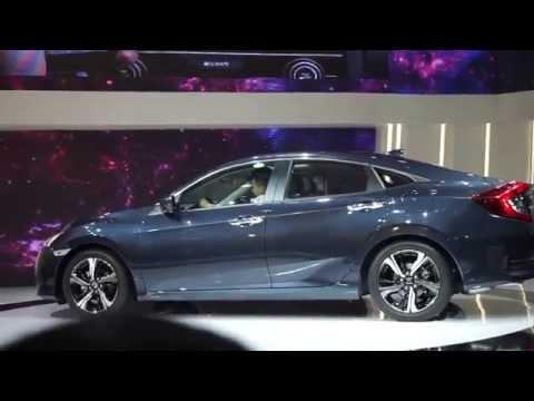 VMS 2016 - Honda Civic 2016 all new show