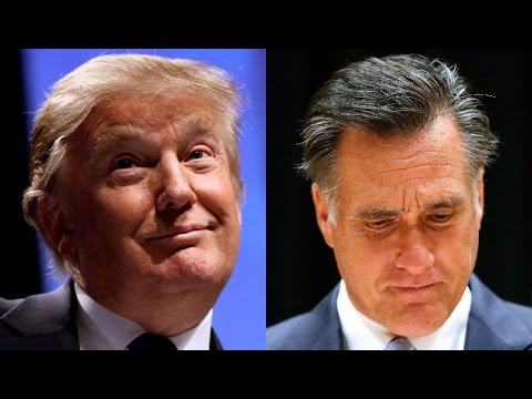 "Trump Was Right: Mitt Romney ""Dropped To His Knees"""