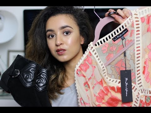 Autumn/ Winter Fashion Haul! Missguided, Asos, Chloe, Stuart Weitzman