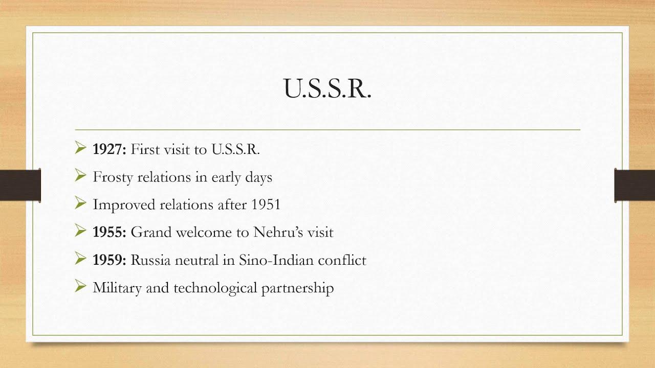 nehru s foreign policy nehru s foreign policy