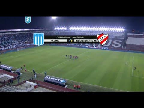 Fútbol en vivo. Racing - Independiente de Neuquén. 32 avos Copa Argentina. FPT.