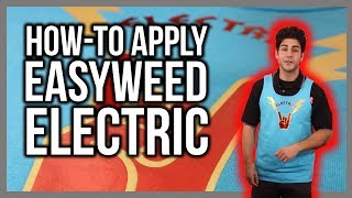 How to Apply EasyWeed Electric Heat Transfer Vinyl to a T-shirt