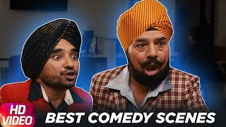 Comedy Scene | Diljit Dosanjh | BN Sharma | Ranbir Rana | Jatt & Juliet 2 | Speed Records
