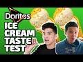 Doritos Ice Cream Taste Test W/Aaron Burriss and Alex Wassabi