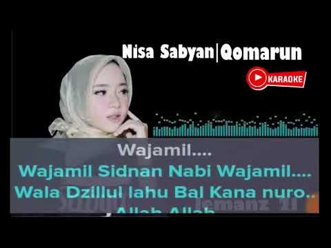No Vocal Qomarun Karaoke Nissa Sabyan