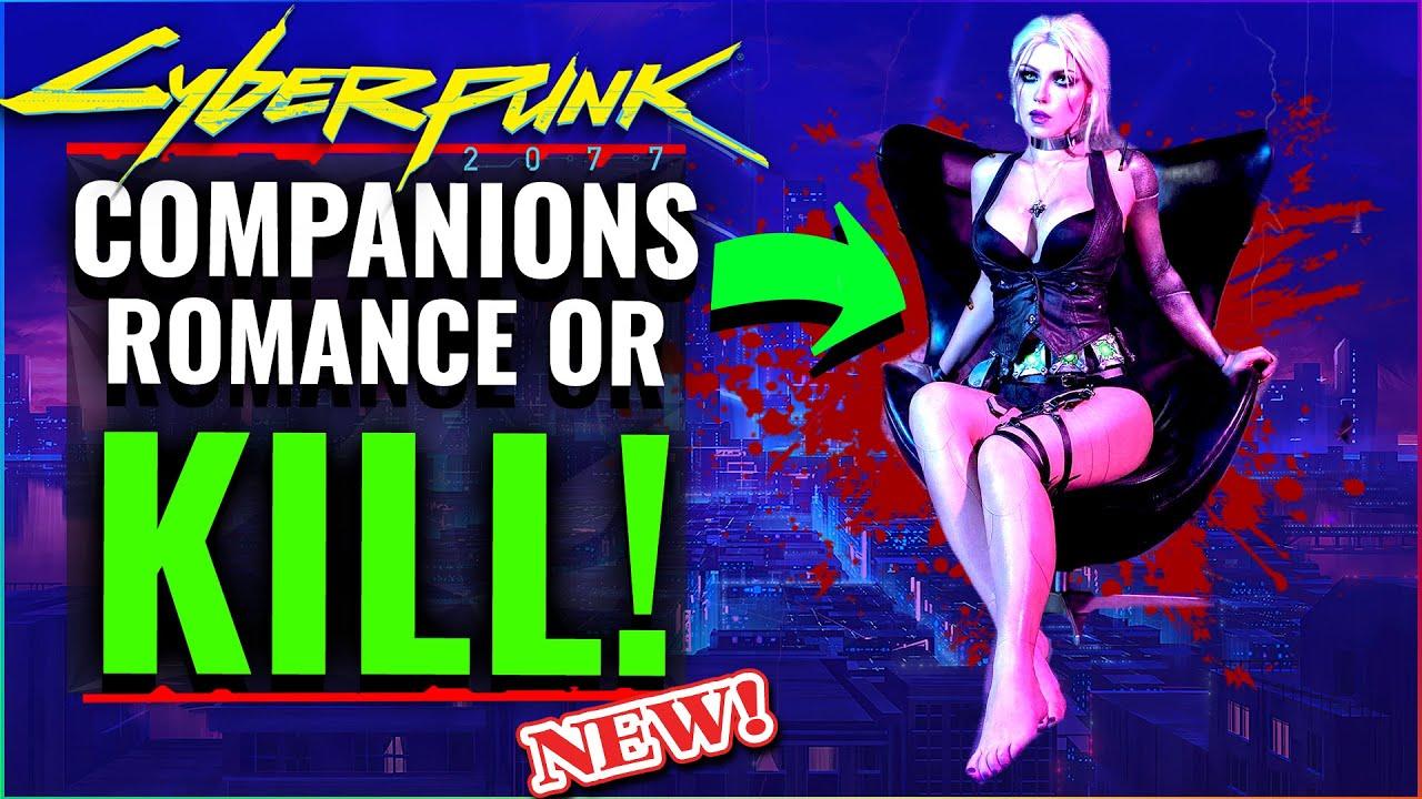 Cyberpunk 2077 HUGE Q&A UPDATE: Companion Romance & Enemies, + Food & Drink. Cyberpunk News 2020