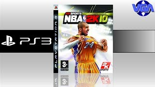 Nba 2k10 Gameplay PS3 ( 2009 )