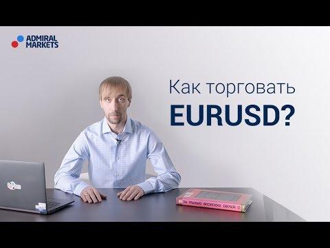 Адмирал Маркетс. Как торговать EUR/USD?