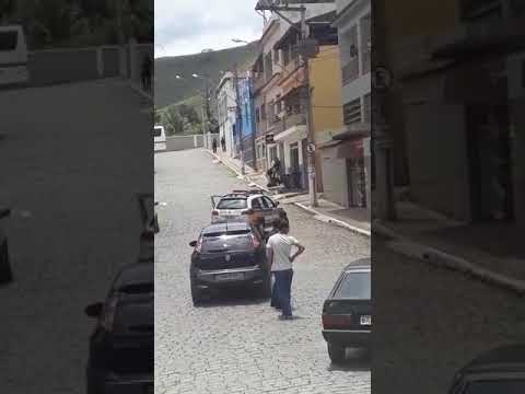 Tentativa de assalto em Miradouro-MG