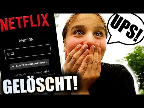 NETFLIX ACC Von Schwester GELÖSCHT ! 😅 ( Es Tut Mir Leid ) - Celina