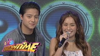 It's Showtime: Kathryn and Daniel visit It's Showtime