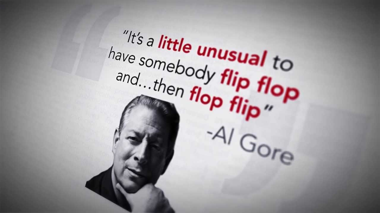 Image result for al gore flip flop