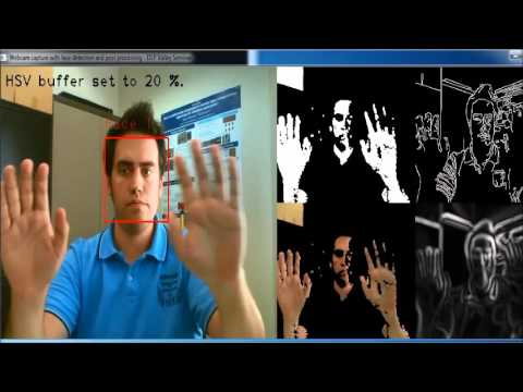 Face detection + skin segmentation using OpenCV 2 4