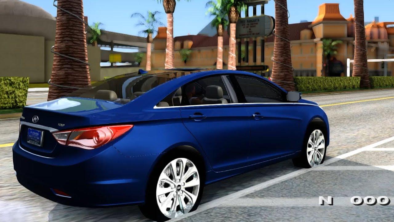 2011 Hyundai Sonata Gta San Andreas Youtube