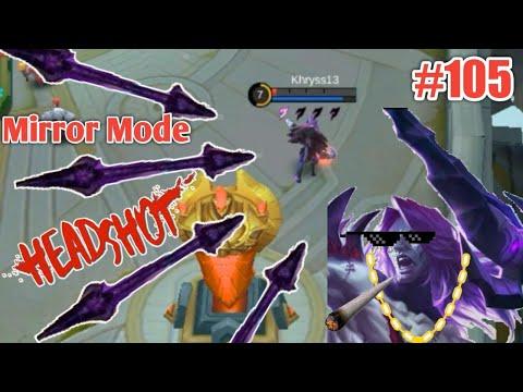WTF Mobile Legends Funny Moments Episode 105 | Mirror Mode Moskov Ultimate Vs Helcurt Funny Moment😂😂