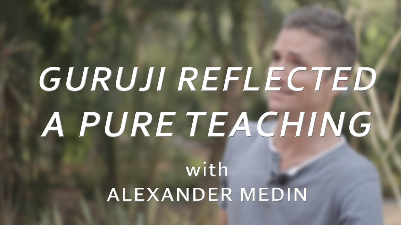 Guruji Pattabhi Jois Reflected A Pure Teaching