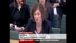 Asbestos in Schools Education Committee 13th March 2013