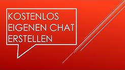 Kostenlos eigenen Chat erstellen (WebKicks) [1080p] - Einsteigertauglich.de
