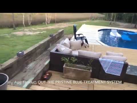 Review On Above Ground Pool + DIY Deck! Reclaimed Wood|Deck Design|Outdoor Spaces