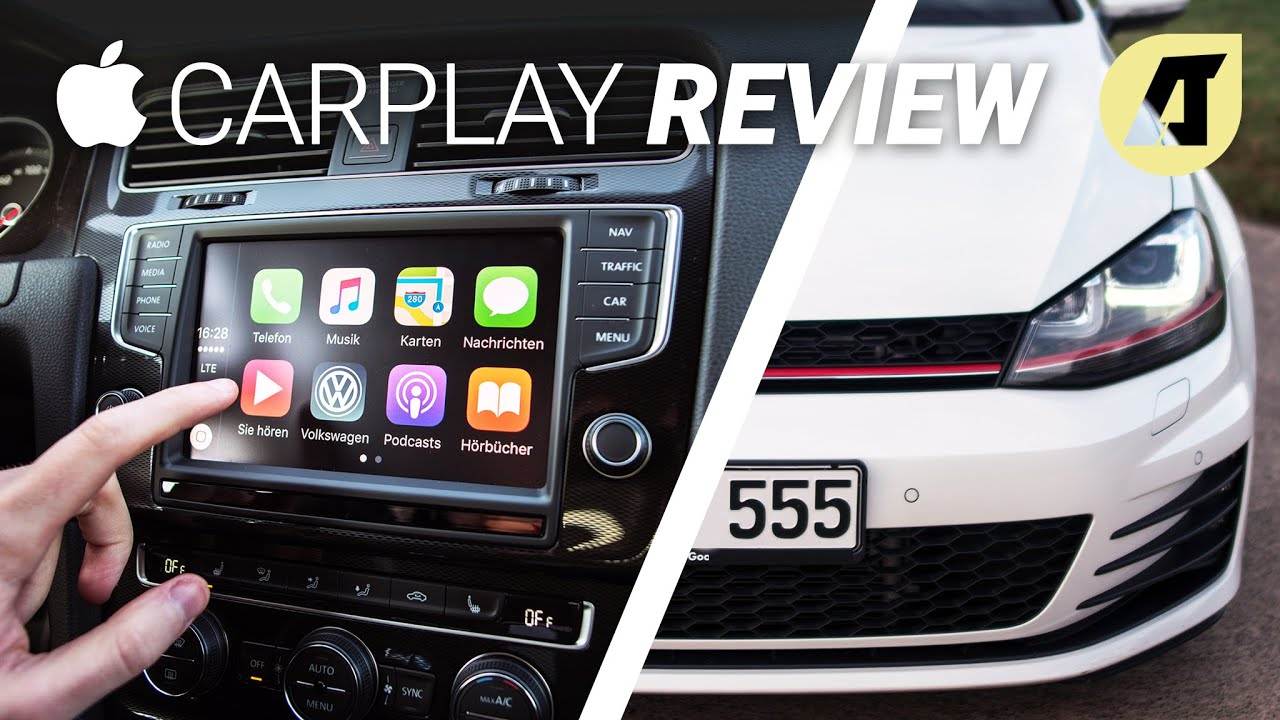 Apple Carplay Im Test Review Deutsch Youtube