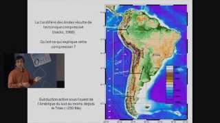 Comment la subduction océanique a controlé la formation de la cordillère des Andes ? (5 fev 2013) thumbnail