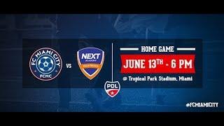 PDL Live - FC Miami City vs Next Palm Beach Academy 6/13/18