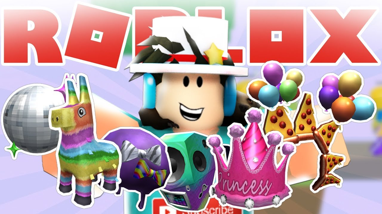 How To Get All Pizza Party Event Items On Roblox Easy Youtube