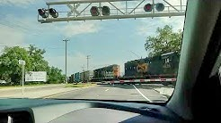 CSX Freighter crossing hwy 17, Jacksonville, Fl. U.S.A.