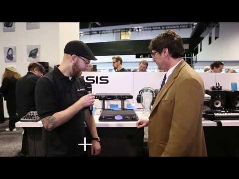 Alesis DRP100 Extreme Isolating Headphones - NAMM 2014