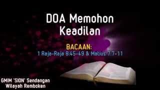 Khotbah Kristen | Doa Memohon Keadilan Pembicara: G A  Stevani Matano | Presented By. JC-Kok