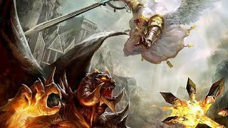 Lucifer Contra Miguel, quien es el más poderoso de los dos? batalla celestial, Ángeles