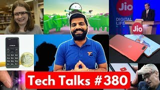 Tech Talks #380 - Oneplus 6, Jio Happy New Year Offer, Smallest Phone, Mi Max 3, Metal Circuit