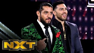 Legado del Fantasma assaults Jake Atlas and Ashante Adonis: WWE NXT, Oct. 14, 2020
