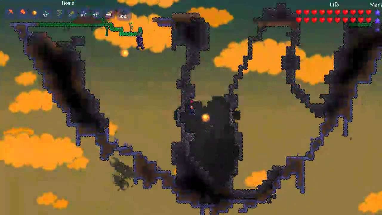 Another Toy Review: Awesome Terraria Corruption Biome Set ...