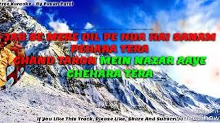 Chand Taaron Me - Karaoke For Female : By Mijjan Khan