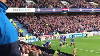 Rangers v St Mirren, Connor Goldson Goal.