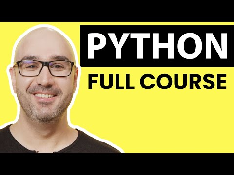 Python Tutorial - Complete Programming Tutorial for Beginners (2019) thumbnail