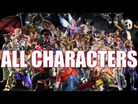 Tekken Tag Tournament 2 All Characters Roster Including Launch Dlc Youtube