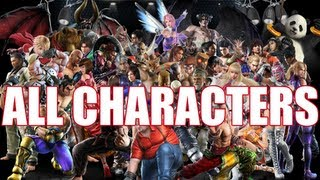 Download Video Tekken Tag Tournament 2 - All Characters (Roster Including Launch DLC) MP3 3GP MP4
