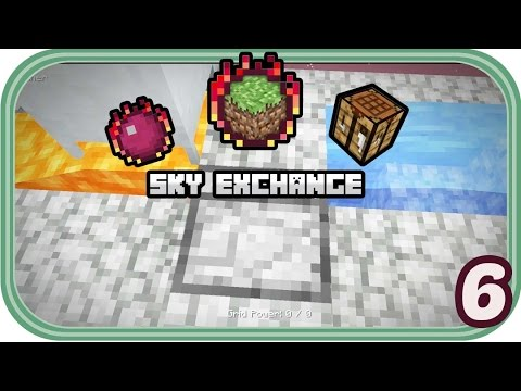 Mechanische Miner - Minecraft Sky Exchange #006 - Deutsch - Chigocraft