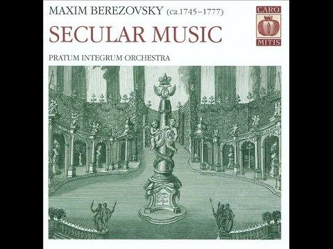 Maxim Berezovsky - Secular Music