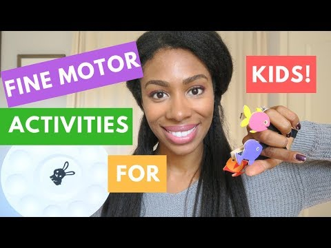 Occupational Therapy | Fine Motor Skills Activities (For Toddlers)