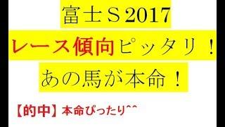 富士S2017【最終予想】レース傾向ピッタリ! あの馬が本命! thumbnail