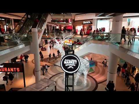 Shopping Malls in Toronto Ontario Canada 2017