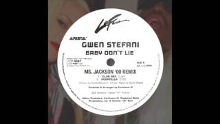 Gwen Stefani - Baby Don't Lie (Ms. Jackson '00 Remix) @InitialTalk