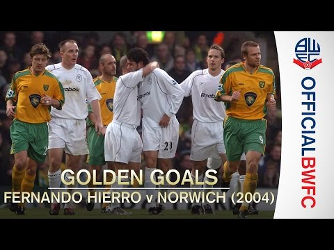 GOLDEN GOALS | Fernando Hierro v Norwich City (2004)